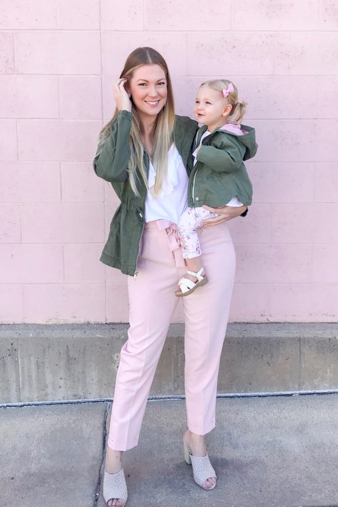 Khaki Anoraks & Pink Pants 4