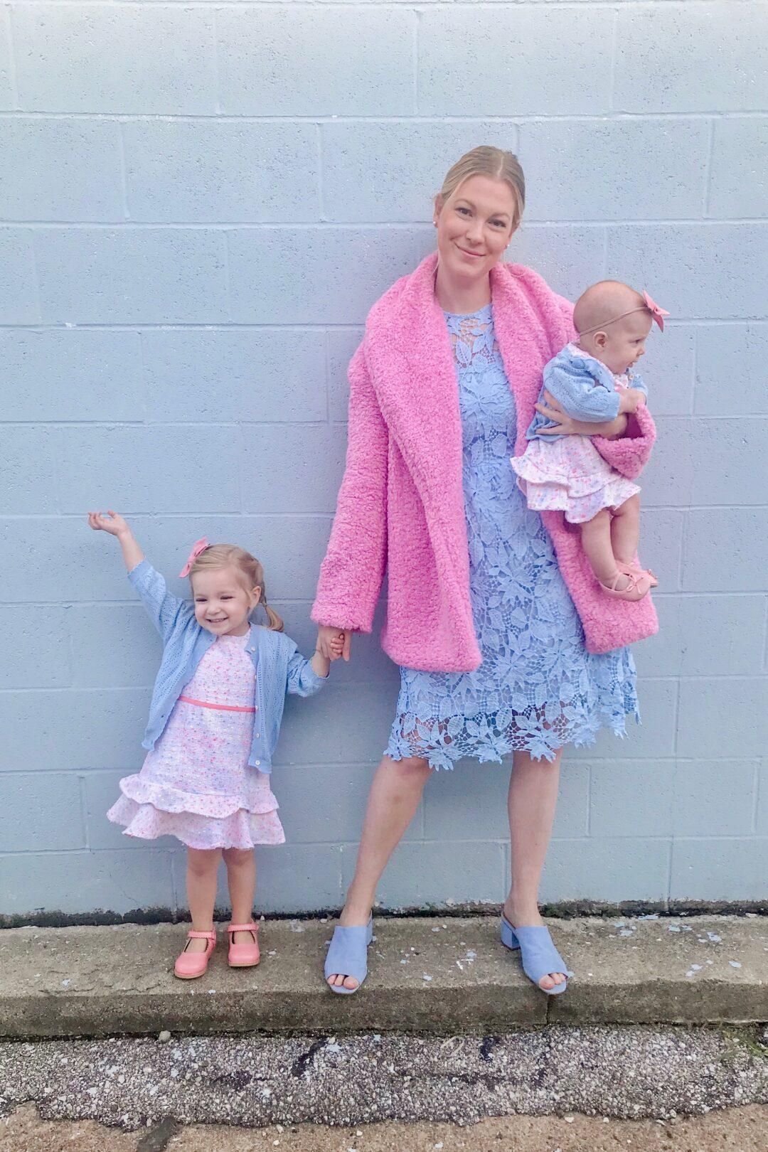 Pink Teddy Coat 2