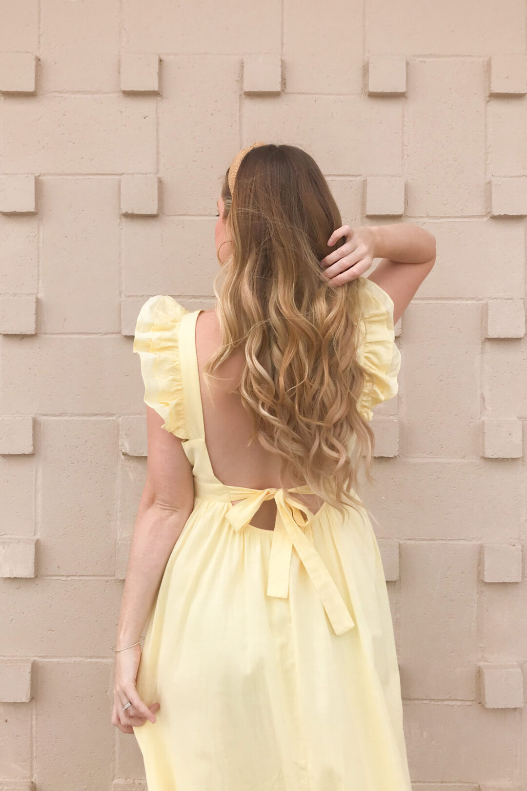 Bow Back Dress 1