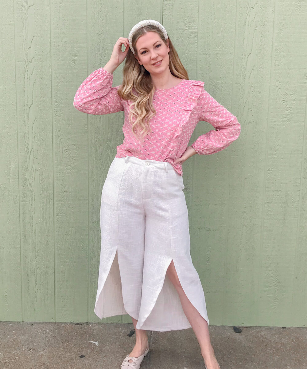 Tweed Pants 2
