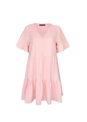 pink tiered dress brookie amazon